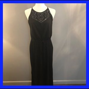 Mossimo  maxi black dress. Size L